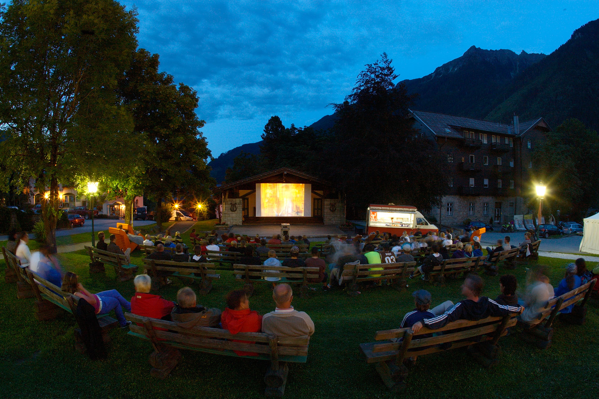 Fall-Kino in Krimml